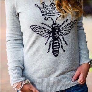 Queen Bee Crewneck Sweater